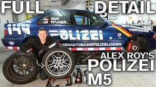 Sticker Removal & Paint Restoration: Alex Roy's Polizei M5