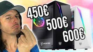 Como comprar TU PC GAMING BARATO en 2020✅(600€, 500€, 450€) - 3 Presupuestos PC Gamer
