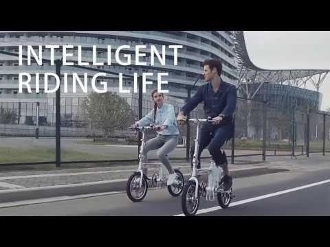 Quảng cáo xe đạp điện gấp Airwheel R5
