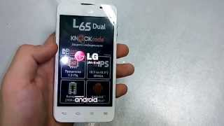 Обзор  LG L65 Dual D285
