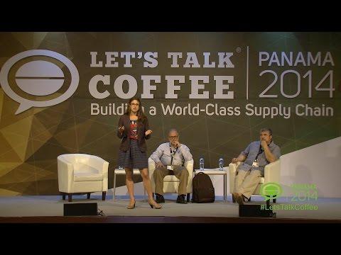 Examining the volatile market at Let's Talk Coffee 2014