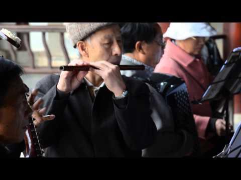 Jianshui China ConfuciusTemple Local Band