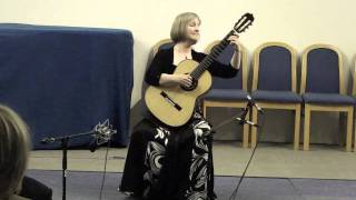 Catherine Thom Classical Guitar: Maria Luisa by Sagreras