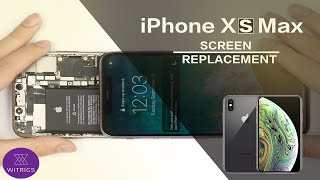 iPhone XS Max Screen Replacement - Tutorial
