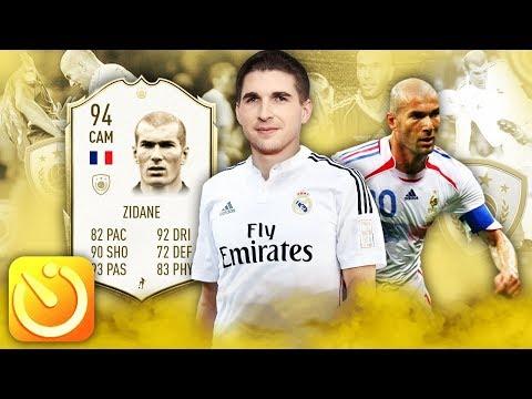 ЗИДАН В ЛЕГЕНДАРНОМ СОСТАВЕ ЗА 5 МИНУТ FIFA 20