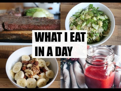 WHAT I EAT IN A DAY HEALTHY FITNESS RECIPES ⎮ Dicle Polat