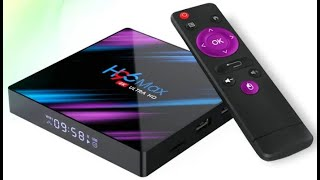 TV BOX ULTRA HD 4K H96 MAX 4GB X 64GB