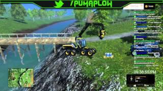 Twitch Stream: Farming Simulator 15 XBOX One 05/23/15 Part 2