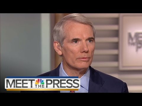 Senator Rob Portman On GOP Party: 'The Party Is In Good Shape' (Full) | Meet The Press | NBC News