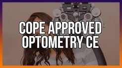 COPE Approved Optometry CE
