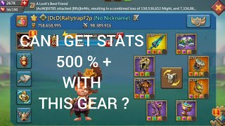 Review Stats Attack Main Account F2P..Lord Mobile..