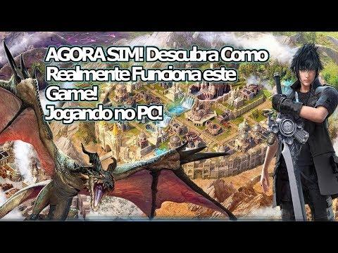 Final Fantasy XV Novo Império: AGORA SIM!!! Agora sei como esse Game é DE VERDADE!!! Omega Play