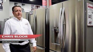 LG 36-inch 24 cu. ft. Counter-Depth French Door Refrigerator (LFXC24766S) - Product Spotlight