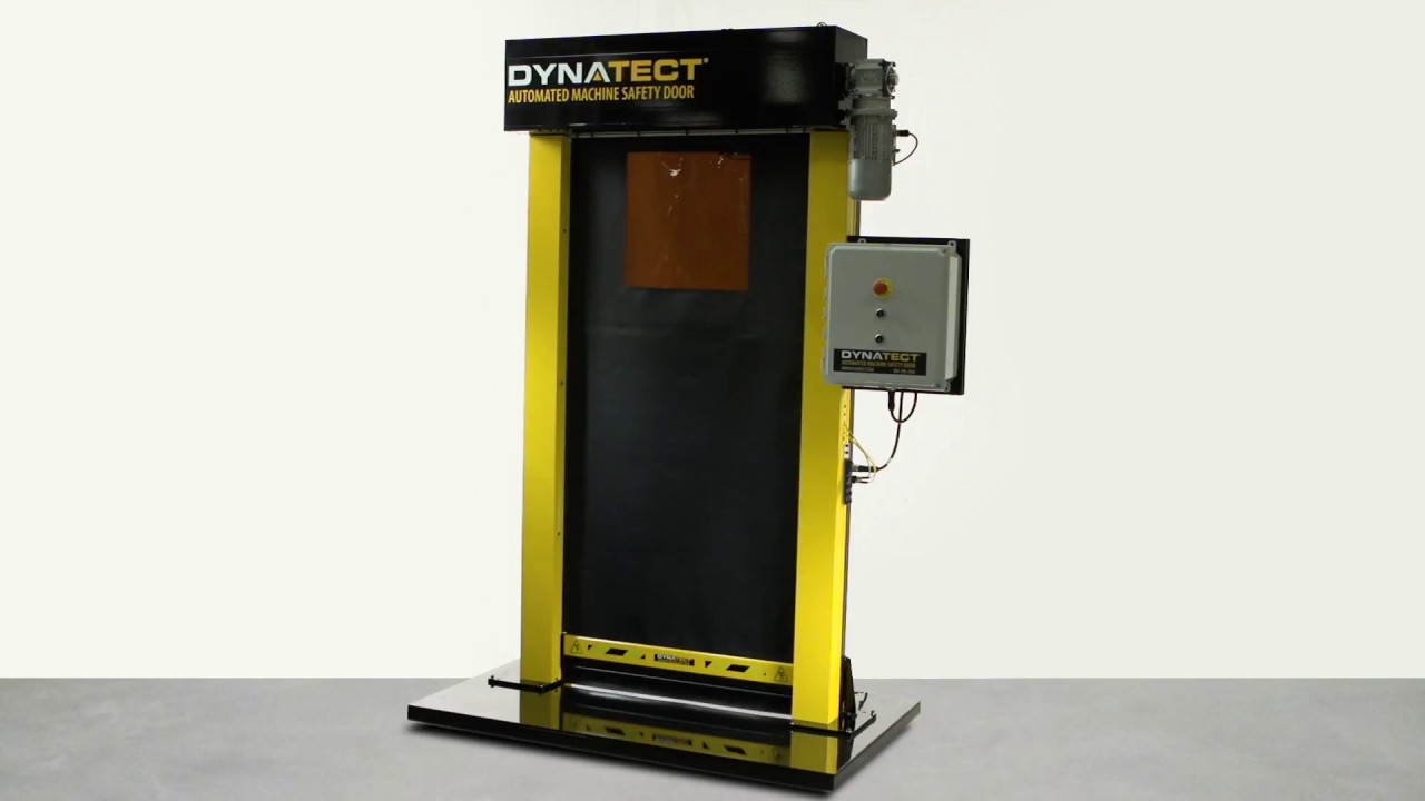Gortite VF Automated Machine Safety Roll-Up Door – Dynatect