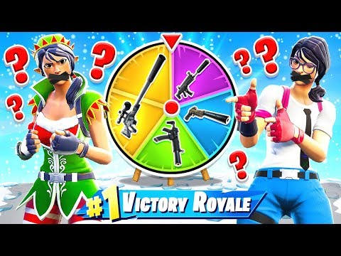 Wheel of SILENT Weapons *NEW* Creative Custom Game Mode in Fortnite Battle Royale