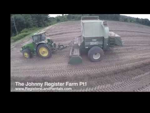 Harvesting Peanuts in South Georgia