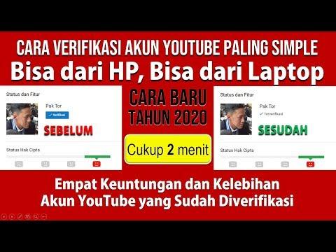 Langkah-Langkah Cara Verifikasi Akun YouTube Terbaru 2020