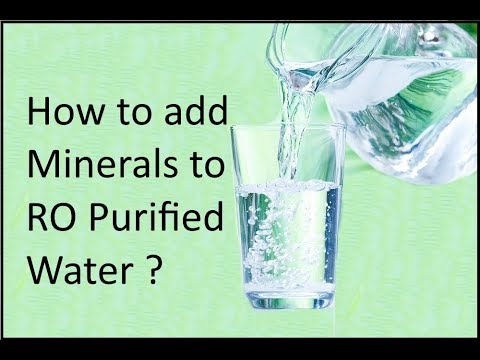 How To Add Minerals Into Water, How To Add Essential Minerals To Water, How To Add Minerals To Water