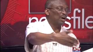 Demostration Turns Violent - Newsfile on Joy News (19-9-15)