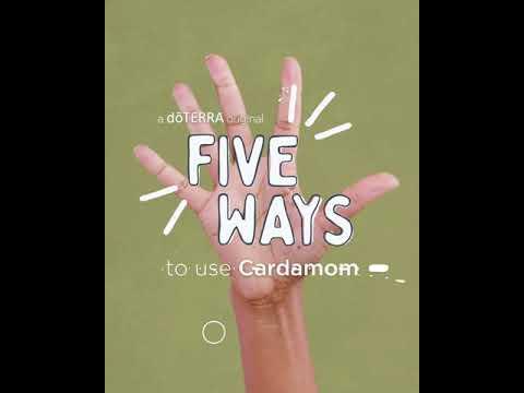 5 Ways  Cardamom