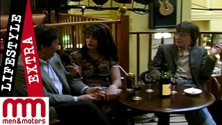Jenny Powell interviews Bill Wyman and Sasha Distel