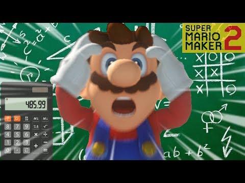 INSANE Working Calculator Level in Super Mario Maker 2 - YouTube