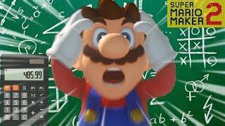 INSANE Working Calculator Level in Super Mario Maker 2