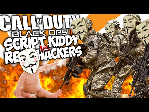 "SCRIPT KIDDY vs REAL HACKERS. ""COD TROLLING"""