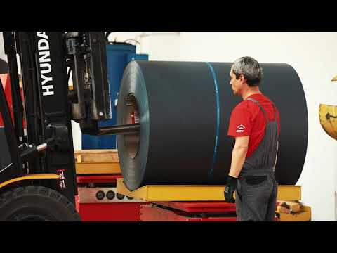 Cum Se Produce Tigla Metalica MTC Model Authentic Pentru Acoperisuri