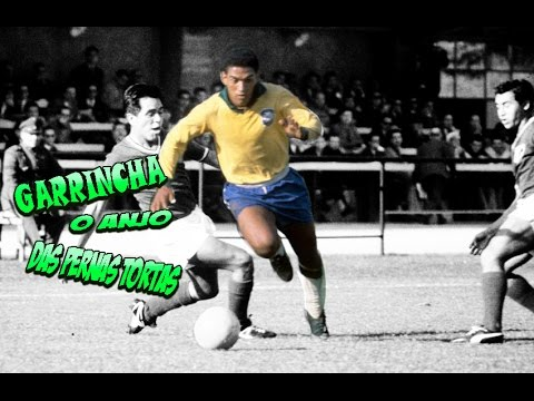 8c34728a0e Garrincha - O Anjo das Pernas Tortas ○King of Dribble○ ⊕Amazing Skiils⊕