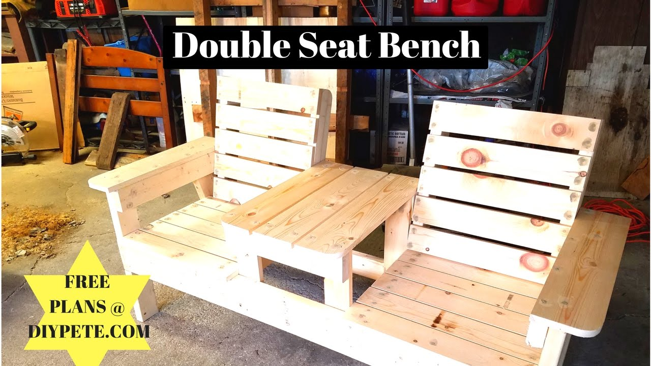Diy Outdoor Bench Table