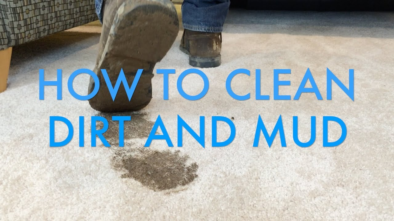 how to clean dirt and mud stains from carpet life is clean youtube