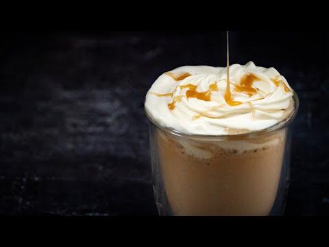 Receta Frappuccino de Caramelo ➡ Igualito al del Starbucks