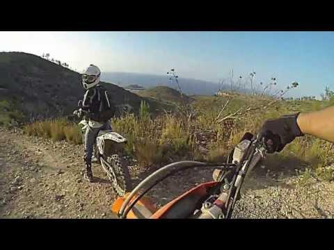 Asfalto y Camino rural por San Miguel