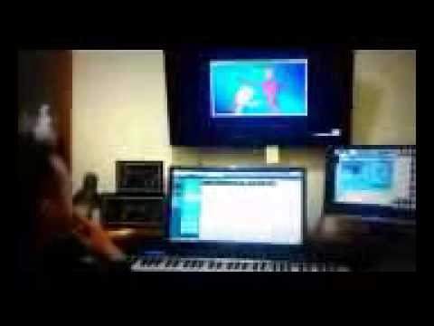 The Adventures of Wanara - The Process of Making Animated Music (Mobile).3gp