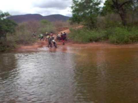 Super Trilha em Brumado, atravessando o rio !!!!!
