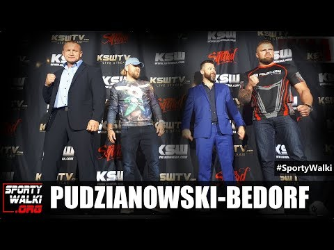 Mariusz Pudzianowski i Karol Bedorf przed KSW 44. Wideo