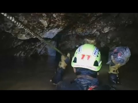 Thai cave rescue diver: I feel very relieved today