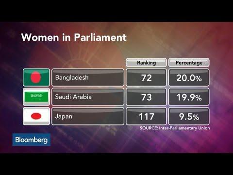Abe's 'Womenomics' Push Falls Short in Parliament