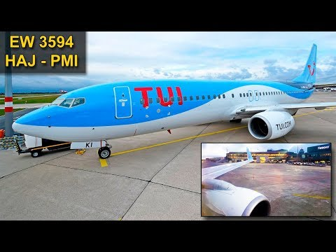 TRIP REPORT | TUI Fly (Eurowings) | HANNOVER - MALLORCA | Deicing Explained | Boeing 737