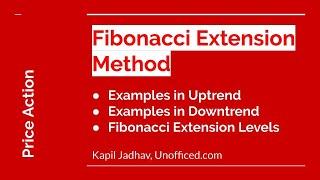 Fibonacci Trading Strategy [Examples of Fibonacci Extension Method] - Part 10