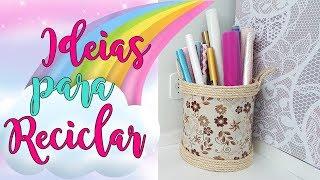 Decoração e Organização para a casa ou Atelier Usando papelão | Viviane Magalhães
