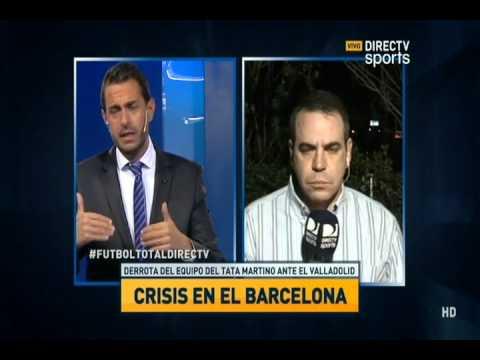 directv sports debate en f tbol total barcelona en crisis youtube. Black Bedroom Furniture Sets. Home Design Ideas