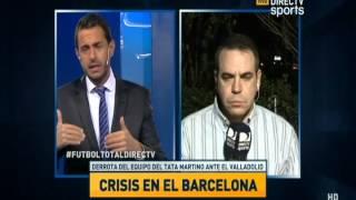 DIRECTV Sports™ - Debate en Fútbol Total ¿Barcelona en crisis?