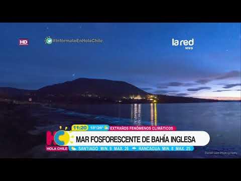 Las imágenes del espectacular y extraño fenómeno natural que ocurrió en Bahía Inglesa
