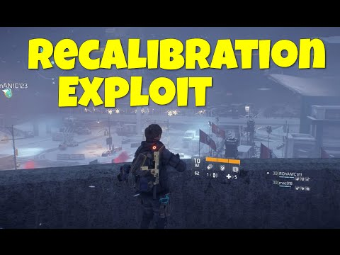 The Division - Recalibration Exploit! (Recalibration For Cheap!! The Division Recalibration Exploit)