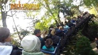 Europa Park: ALPINE COASTER in 3D (POV)