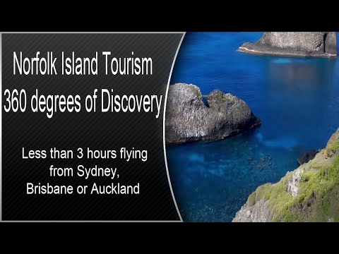 Norfolk Island Tourism - 360 degrees of Discovery