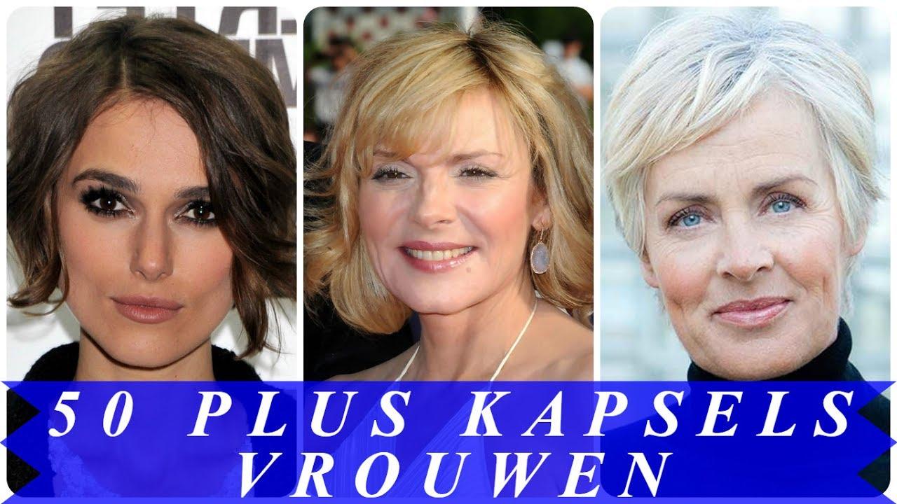 Zeer Korte kapsels vrouwen 50 plus - YouTube #TA49