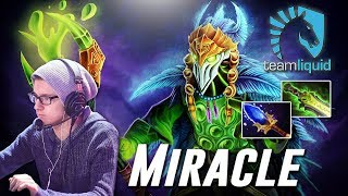 Miracle Ethereal Rubick - Dota 2 Pro MMR Gameplay